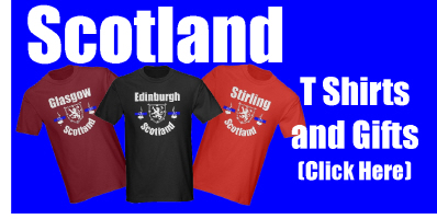Scotland T Shirts and Gifts