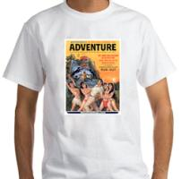 ADVENTURE, Dec. 1961 tees, mugs, cards & other ite