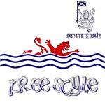 Scottish swimming Pool Fun