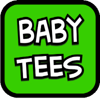 Cute and funny t-shirts oneseies for babies and to