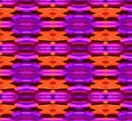Tapestry of Purple and Orange