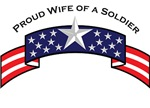 Proud Wife of a Soldier, Stars & Stripes©