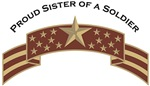 Proud Sister of a Soldier, Stars & Stripes©, Deser