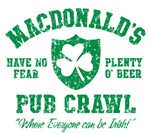 MacDonald's Irish Pub Crawl