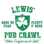 Lewis' Irish Pub Crawl