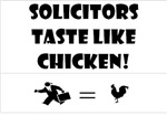 Solicitors Taste Like Chicken!