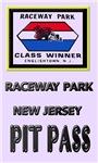 Raceway Park Pit Pass