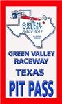 Green Valley Raceway Pit Pass