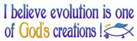 Evolution, 1 of God's Creations