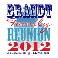 Brandt Family Reunion 2012