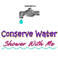 Conserve Water Shower With Me T-Shirts Apparel