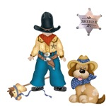 Sheriff and His Dog