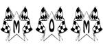 Checkered Flag Mom Design