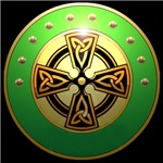celtic cross shield