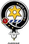 Jardine Clan Crest Badge