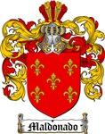 Maldonado Coat of Arms / Maldonado Family Crest