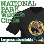 National Parks T-Shirt: Wildlife Circle Logo