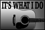 ACOUSTIC GUITAR-IT'S WHAT I DO