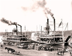Antique Mississippi Riverboat