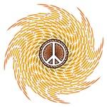 Circle Peace Symbol Mandala
