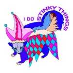SKUNK T SHIRT: I Do Stinky Things T Shirts