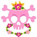 Hawaiian Pirate Skull