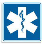 EMT Paramedic Logo Square