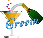 Champagne Toast Groom