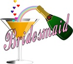 Champagne Toast Bridesmaid