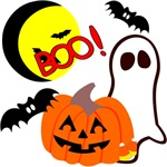 Shop for Halloween Decorations and personalized Trick or Treat bags, banners and candy.