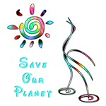 Save Our Planet: T-Shirts & Gift Ideas Personalized