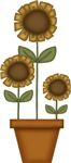 Sunflower Clocks, Gifts and Favors