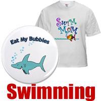 Swimming t-shirts & swim gifts