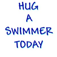 Hug a Swimmer t-shirts and gifts