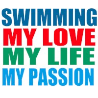 Swimming, My Passion t-shirts & gifts