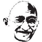 Gandhi Gentle Way Quote