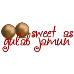 Sweet as gulab jamun