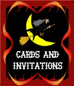 {HALLOWEEN CARDS AND PARTY INVITATIONS}