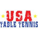USA Table Tennis T-Shirt & Gifts