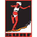 Surf Girl T-Shirt & Gifts