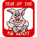 2007 Year of The Pig Gifts & T-Shirts