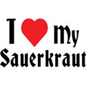 Love Sauerkraut T-Shirt and Gifts