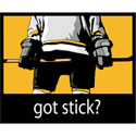 got stick? Hockey T-Shirt and Gifts