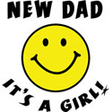 New Dad It's A Girl T-Shirt