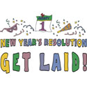 Funny New Year's Resolution T-Shirt Gift