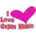 I Love Cajun Music T-Shirt