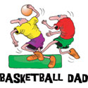 Basketball Dad T-Shirt and Gifts