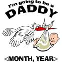 Funny Daddy To Be Personalized T-Shirt Gifts