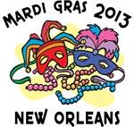 Mardi Gras 2013 T-Shirts