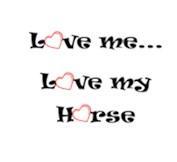 Love my horse